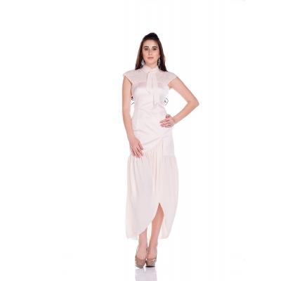 Сукня пудрового кольору