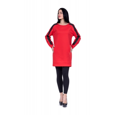 Tunic red color