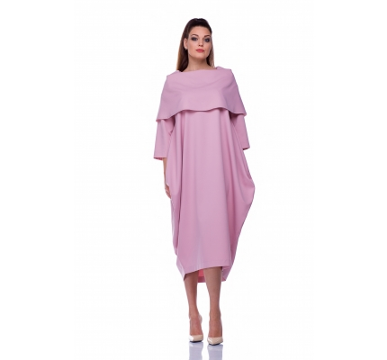 Dress pale rose color