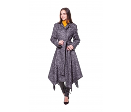 Coat with angles