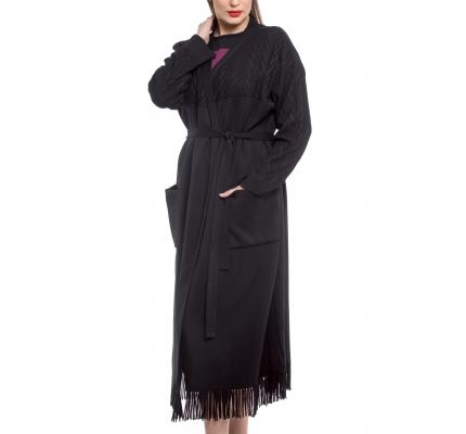 Cardigan black color