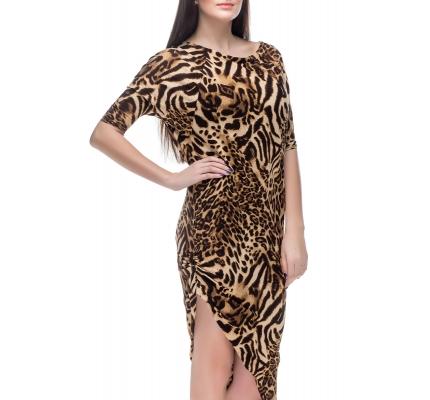 Сукня леопардовий принт