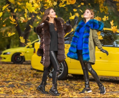 Fur fleece, coat and sport car! Or, what do women dream about this winter?