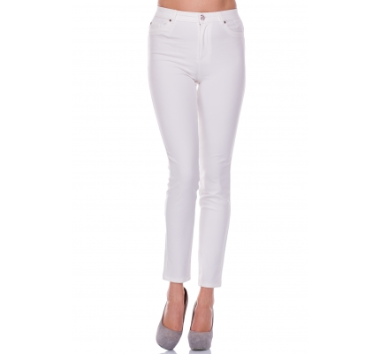 Pants white color