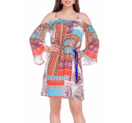 Платье-туника с принтом