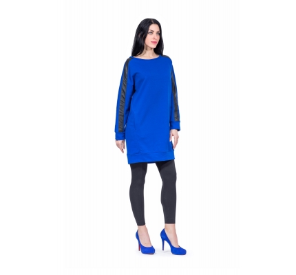 Tunic blue color