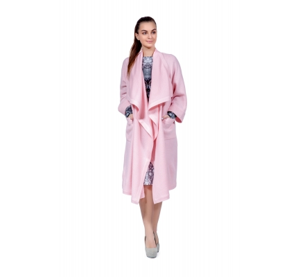 Cardigan pink color