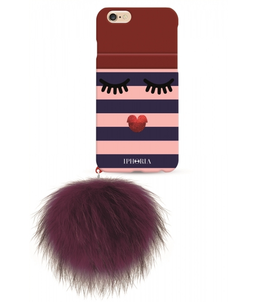 Чехол Monster with red Pom Pom для Apple iPhone 7