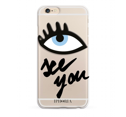 Case See You Transparent for Apple iPhone 6/6s