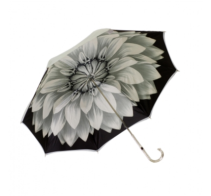 Umbrella silver flower