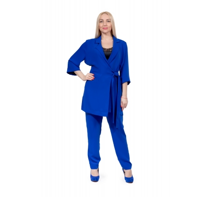 Pajama suit blue color