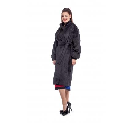 Black kimono coat