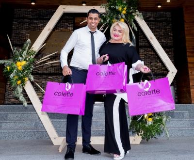 Colette став модним партнером на італійській вечірці «Buonasera, Dnipro» в ресторані.