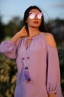Dress pale purple - Фото