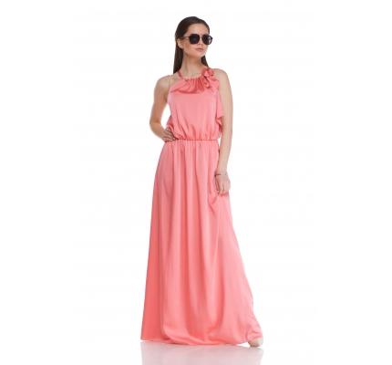 Платье цвета роза в пыли